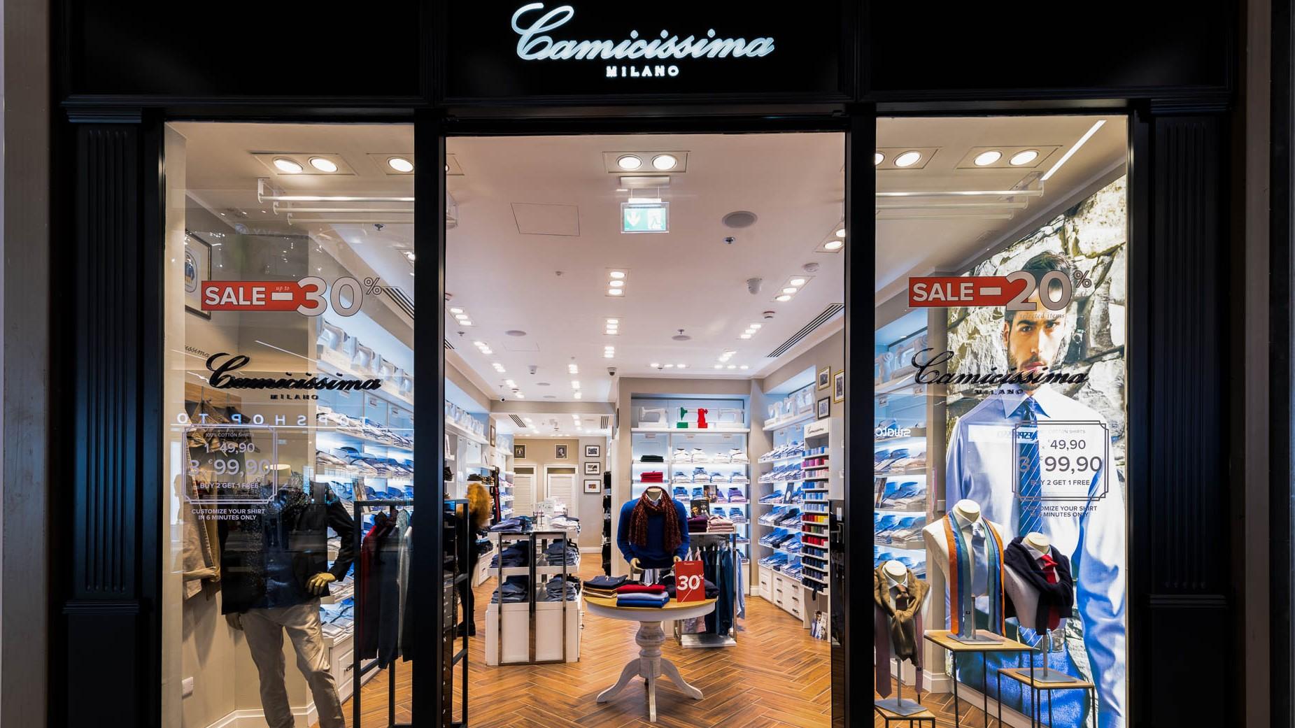 Camicissima Nicosia Mall