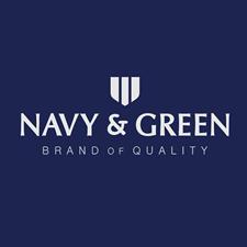 NAVY & GREEN